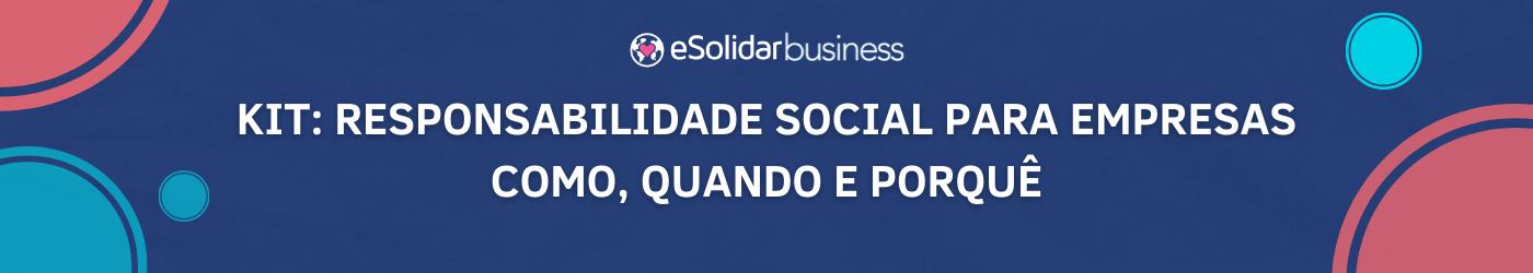 Ilustração Kit Responsabilidade Social Empresarial